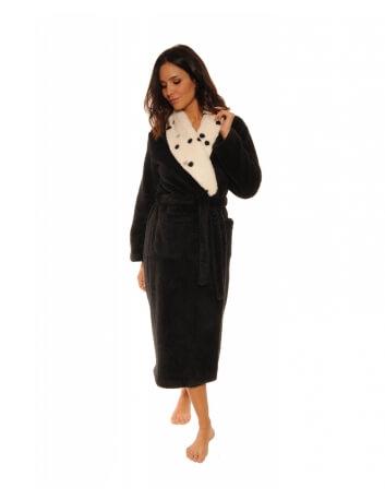 Robe de chambre Femme, Promo 17H -30 %, Modèle AURIANNE