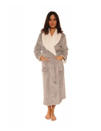 Robe de chambre Femme, Promo 17H -30 %, Modèle AVA