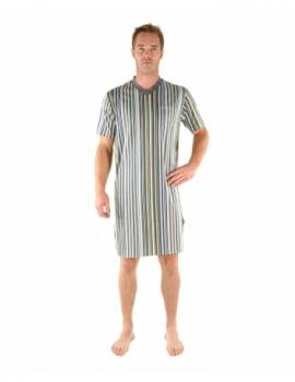 la meilleure attitude 8e332 ff750 Chemise de nuit homme : liquettes de nuit manches courtes ...