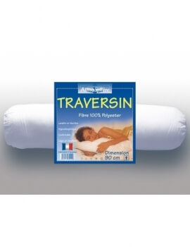 Traversin - Long. 90 cm - Lit 1 personne