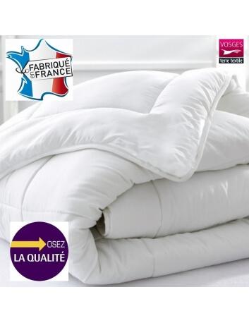 Couette blanche - 140 x 200 cm 400 gr/m² - Microfibre