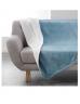 Plaid polaire Bleu 125x150