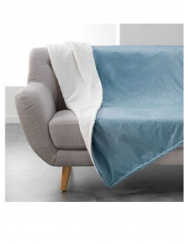 Plaid polaire Bleu 180x220