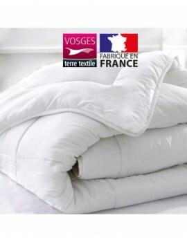 Couette blanche - 260 x 240 cm 400 gr/m² - Microfibre France