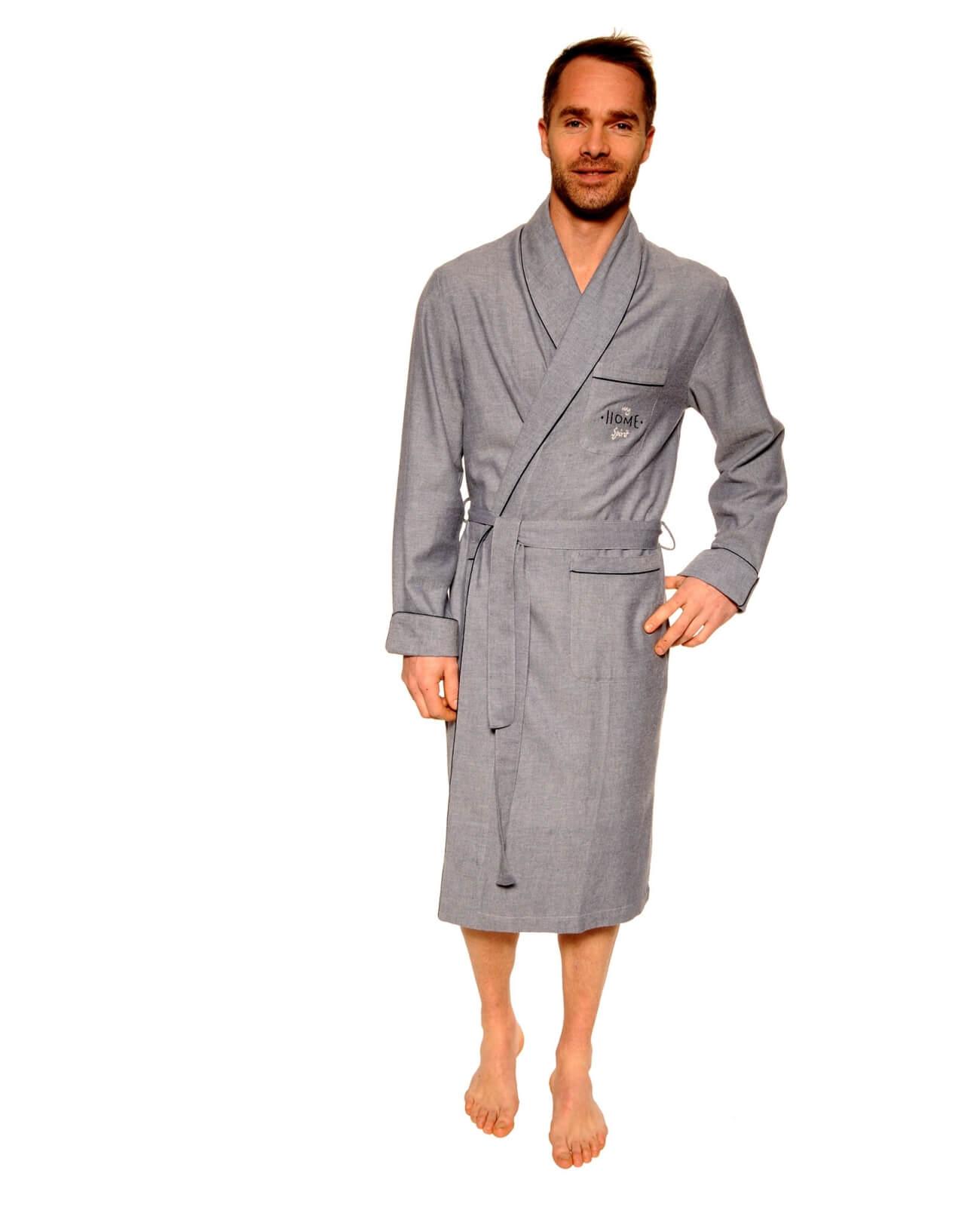 6076fe7d46181 Robe de chambre Homme, Promo 17H -30 %, Modèle BERNE
