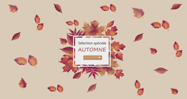 Sélection couleur d'automne