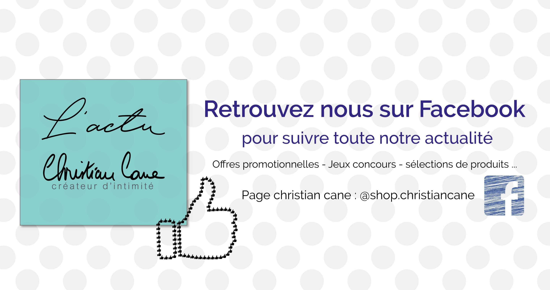 Page Facebook @shop.christiancane