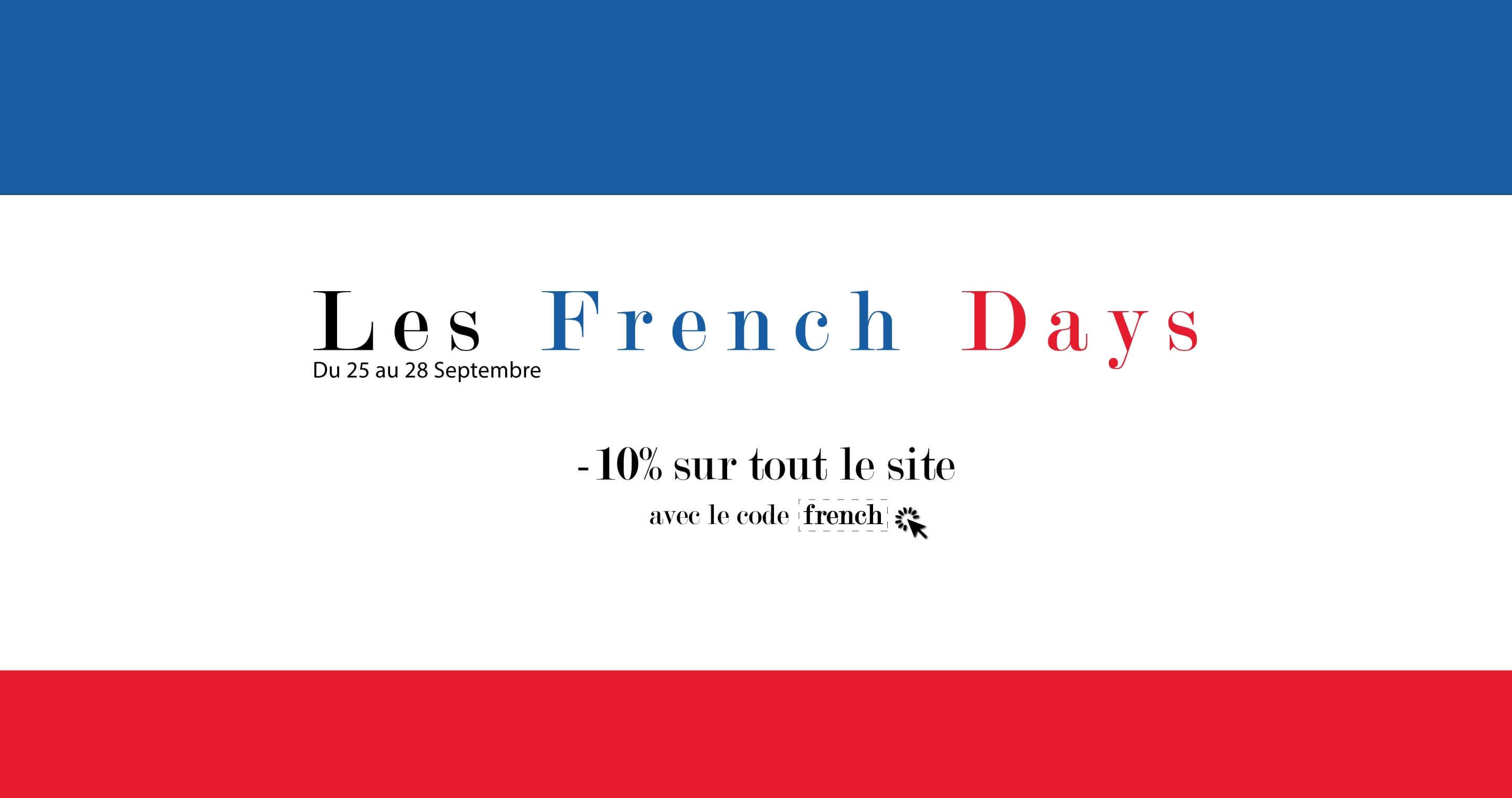 French days: -10% sur tout