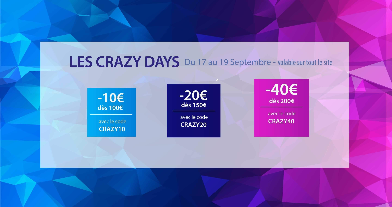 Profitez des crazy days !!