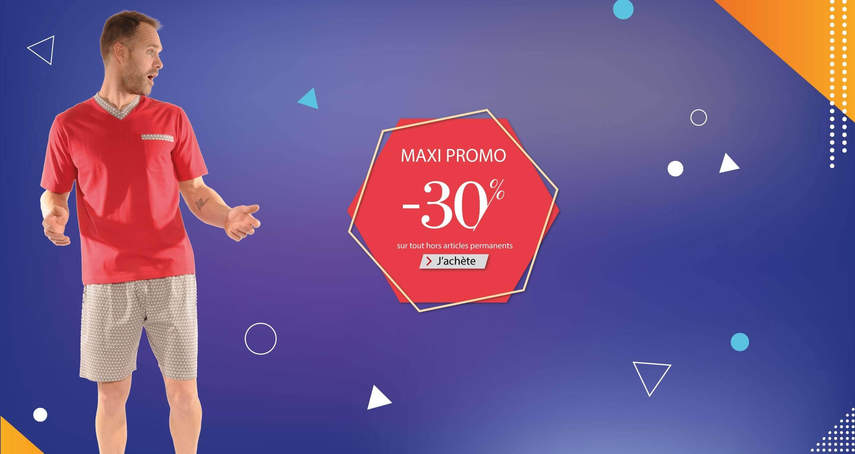 Profitez des maxi promo à -30%